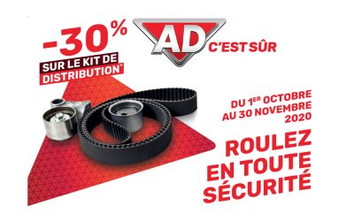 Kit de distribution promo -30%