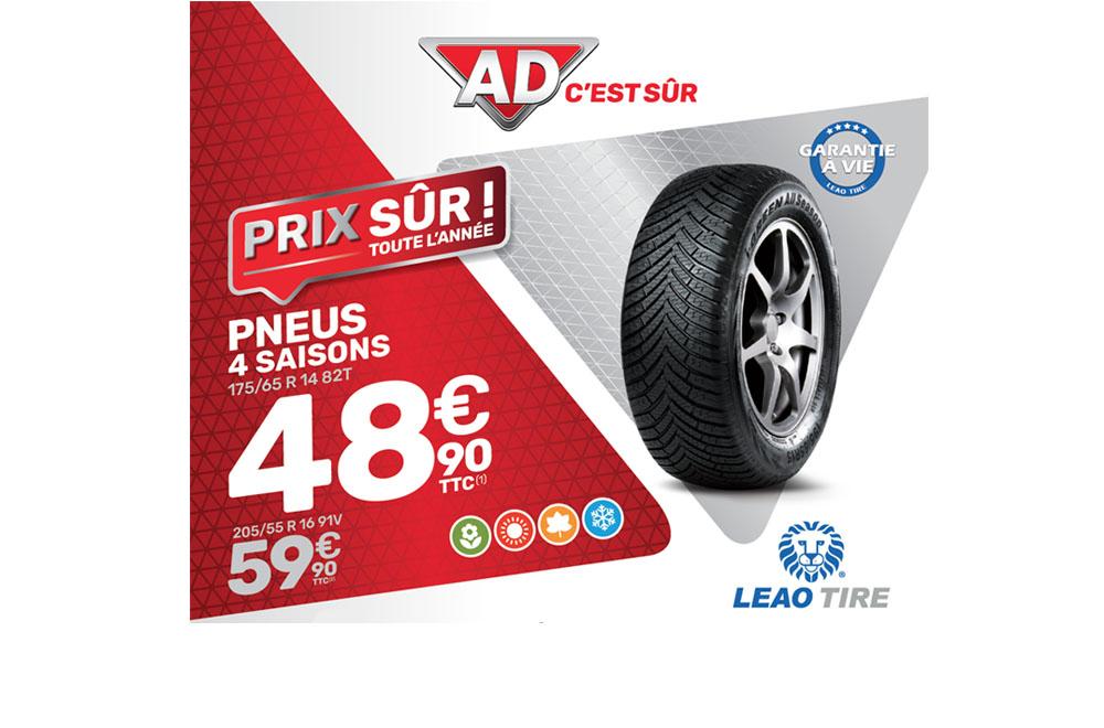 Pneus 4 saisons Prix sûrs toute l'année 2021 chez AutoTR89